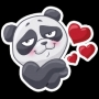 "ملصق تيليجرام ""PandaS"" stickers set"